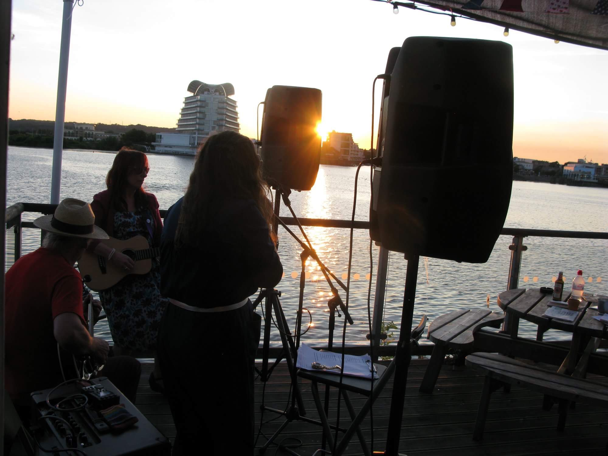 Sunset Songs at Cardiff Bay